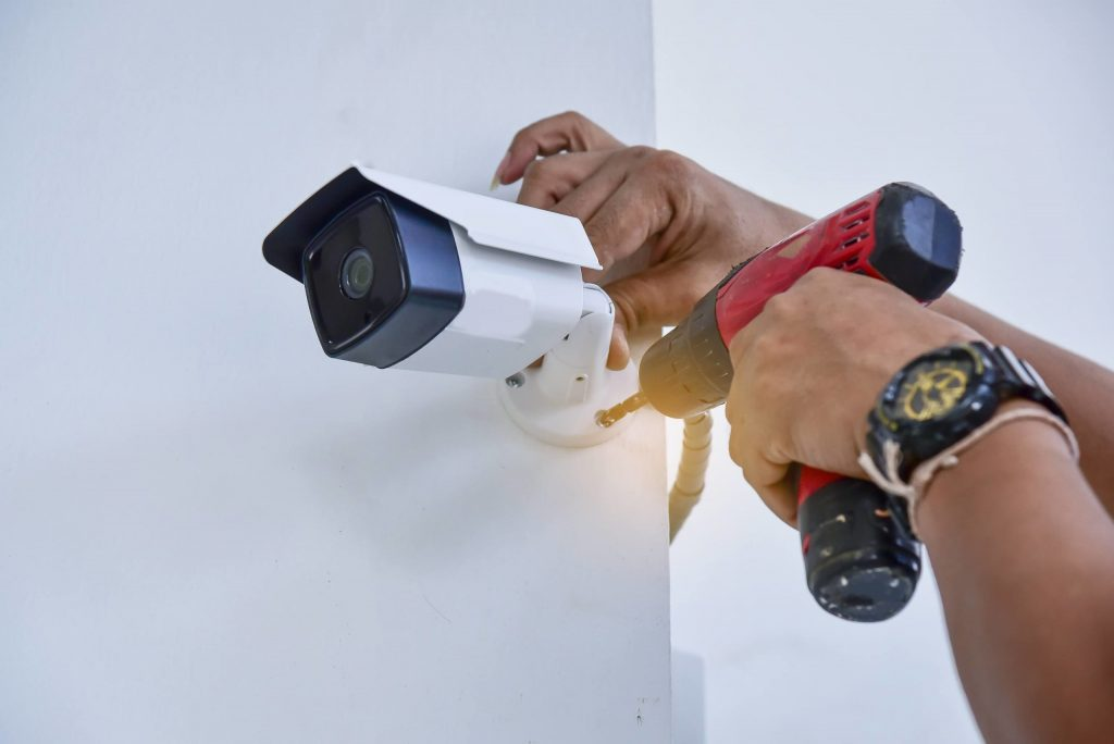 Ghani Associates security cameras