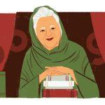Google Doodle Celebrates Birthday of Banu Qudsia