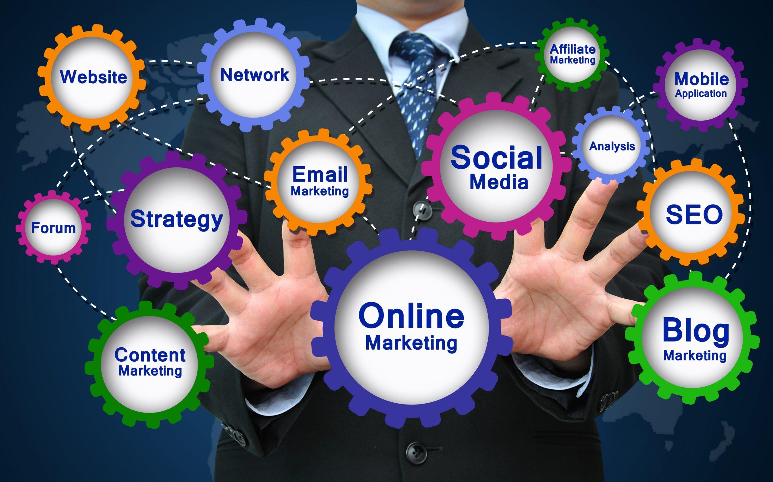 digital marketing and designing
