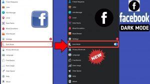 Activate Facebook Dark Mode Again