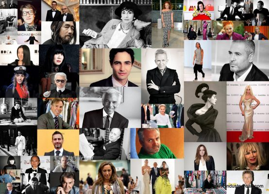 Top Ten Fashion Designers In The World