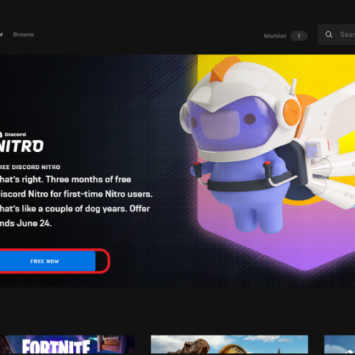 How To Get Discord Nitro For Free From Epic Games Store?