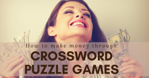 Play Crosswords And Make Money